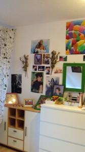 Indiviuduell eingerichtete Zimmer